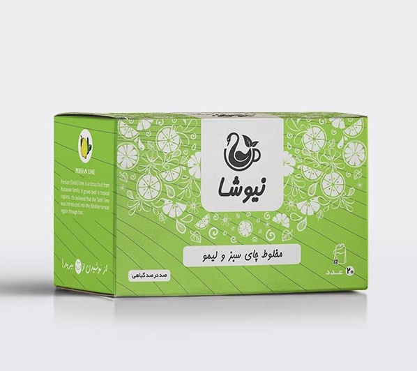 مخلوط-چای-سبز-و-لیمو